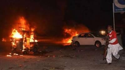 کوئٹہ: ایف سی چیک پوسٹ کے قریب دھماکہ، 2ہلاک 6 زخمی