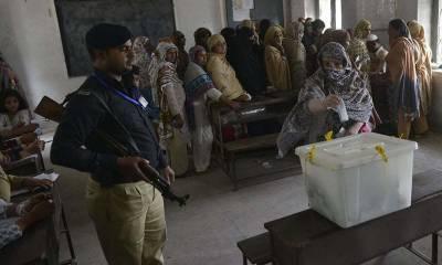 حلقہ پی پی 20 چکوال میں ضمنی الیکشن، پولنگ جاری