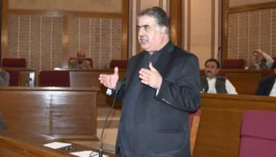 وزیراعلیٰ بلوچستان نواب ثنا اللہ زہری مستعفی ہو گئے