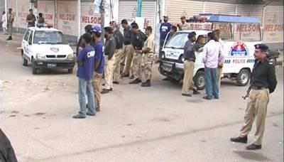 کراچی نامعلوم افراد کی فائرنگ سے پولیس اہلکار جاں بحق