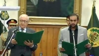 نو منتخب وزیراعلیٰ بلوچستان میر عبدالقدوس بزنجو نے عہدے کاحلف اٹھا لیا