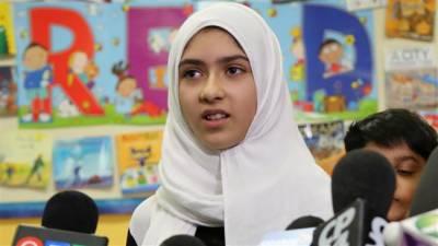 کینیڈامیں نامعلوم شخص نے قینچی سے مسلمان بچی کا حجاب پھاڑ دیا
