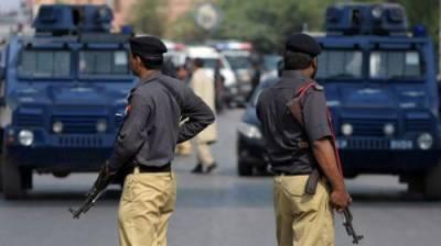 کراچی میں سرکاری گاڑیاں ممکنہ طور پر دہشت گردی میں استعمال ہو سکتی ہیں