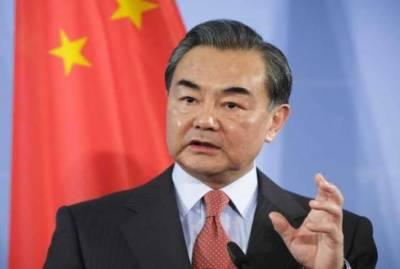 بھارت کے غیر ذمہ دارانہ بیانات خطے کا امن متاثر کر دیں گے: چینی وزیرخارجہ