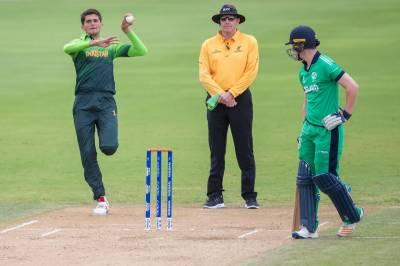 انڈر 19 ورلڈ کپ:پاکستان نے آئرلینڈ کو 9 وکٹوں سے شکست دیدی