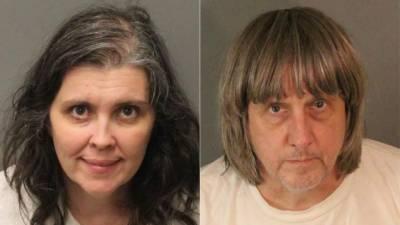 کیلی فورنیا میں والدین نے 13 بچوں کو بھوکا قید کر لیا