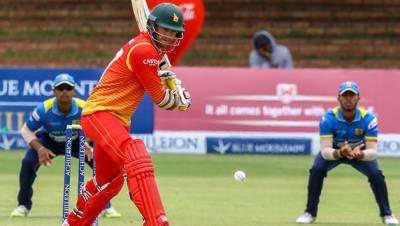 زمبابوے نے سری لنکا کوسنسنی خیز مقابلے کے بعد12رنز سے ہرادیا