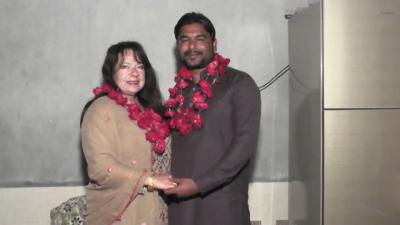 کینڈین خاتون نے جلالپوربھٹیاں کے رہائشی لڑکے سے شادی کر لی