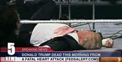 ڈونلڈ ٹرمپ کو دل کے حوالے سے سنگین مسائل لاحق ہیں : امریکی اخبار