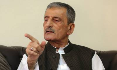 شیخ رشید کو پارلیمنٹ سے محبت نہیں ٗ وہ مارشل لا چاہتے ہیں : غلام احمد بلور