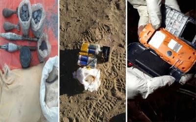 ایف سی کی بلوچستان میں بڑی کارروائی ، 8 دہشتگرد گرفتار ، اسلحہ برآمد