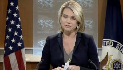 امریکہ کا پھر ڈومور کا مطالبہ، پاکستان کوحافظ سعید کیخلاف قانونی کارروائی کا پیغام دیدیا