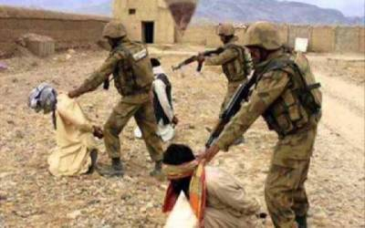 آپریشن ردالفساد کامیابی سے جاری ، 3 افغانیوں سمیت 8 دہشتگرد گرفتار