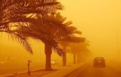 سعودی عرب اور عراق میں خوفناک آندھی، متاثرہ علاقوں کے اسپتالوں میں ہنگامی حالت