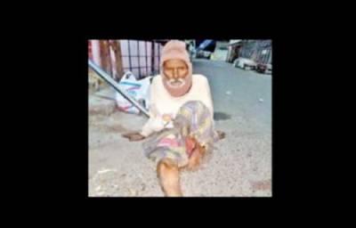 بھارت کے علاقے چنئی میں ظالم بیٹا ، باپ کو بے یارو مدد گار چھوڑ کر فرار