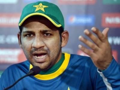 سرفراز احمد نے پہلے ٹی ٹوئنٹی میچ میں نئی گیند کو شکست کی وجہ قرار دے دیا