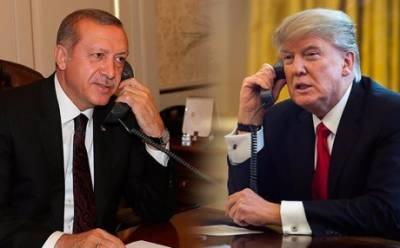 ترکی کو شام میں جاری فوجی کارروائی فوری بند کرنی چاہیے، ٹرمپ