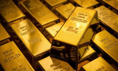 بین الاقوامی گولڈ مارکیٹ میں فی اونس سونے کی قیمت میں مزید 10ڈالر کا اضافہ ریکارڈ