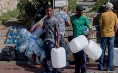 جنوبی افریقہ کے مشہور سیاحتی شہر کیپ ٹاؤن میں پانی کا شدید بحران، اپریل تک پانی مکمل ختم ہونے کا اندیشہ