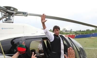 عمران خان کا خیبرپختونخوا کے سرکاری ہیلی کاپٹرز کا دل کھول کر مفت استعمال، 74 گھنٹے کا سفر کیا