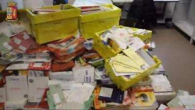 اٹلی میں ڈاکیے کے گھر سے 540 کلو گرام غیر ترسیل شدہ خطوط برآمد