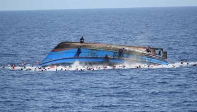 لیبیا کے ساحل پر پاکستانیوں سمیت 90 افراد ڈوب گئے