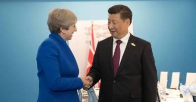 برطانوی وزیراعظم کا دورہ چین، دونوں ممالک میں 13ارب ڈالر کے اقتصادی معاہدے