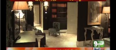 نواز شریف کے لندن فلیٹس کی اندرونی ویڈیو سامنے آگئی