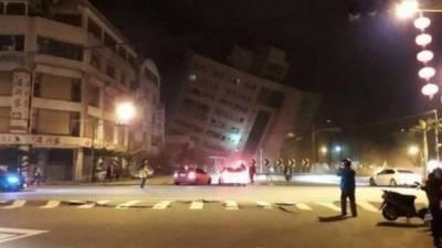 6.4 شدت کے زلزلے نے تائیوان کو ہلا کر رکھ دیا ، متعدد عمارتیں زمین بوس