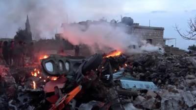 شامی اورروسی طیاروں کی غوطہ میں تازہ بمباری سے 32افرادہلاک