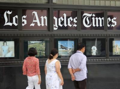لاس اینجلس ٹائمز کو بیچنے کا فیصلہ