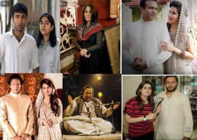 پاکستان کی 7 معروف شخصیات جنہوں نے اپنے خاندان میں شادی کی