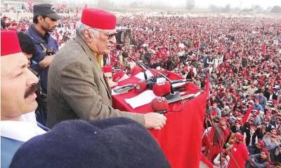 عوامی نیشنل پارٹی کےامیر فرزند خان پاکستان تحریک انصاف میں شامل