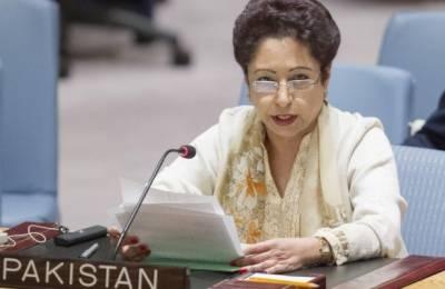 پاکستان ٗ کشمیریوں کے شانہ بشانہ کھڑا ہے : ملیحہ لودھی
