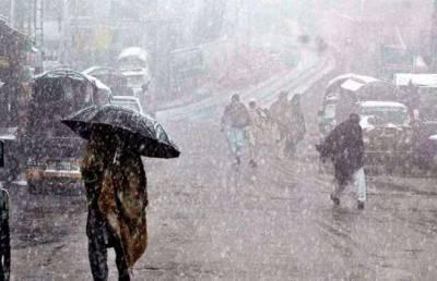 گرم کپڑے پھر نکال لیں،لسبیلہ میں بارش،کوئٹہ کے پہاڑوں پر برفباری سے موسم سرد ہوگیا