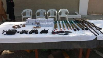 ایف سی کی بلوچستان میں کارروائی،20 مشتبہ دہشتگرد گرفتار،اسلحہ و گولہ بارود برآمد
