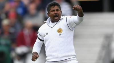 سری لنکن اسپنر رنگنا ہیراتھ نے وسیم اکرم کو پیچھے چھوڑ دیا