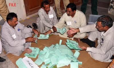 این اے 154 ضمنی انتخابات، علی ترین ، اقبال شاہ میں سخت مقابلہ ، ووٹوں کی گنتی شروع