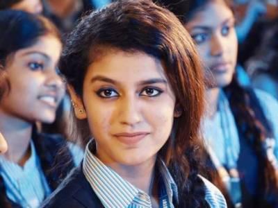 میک اپ و سوشل میڈیا نے پریا پرکاش کو اسٹار بنایا، بھارتی میڈیا