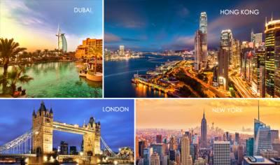 دنیا کے امیر ترین شہروں میں نیو یارک کا پہلا نمبر