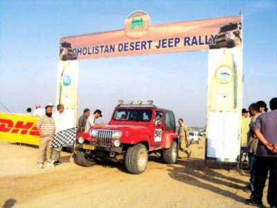 چولستان ڈیزرٹ ریلی کا دلچسپ ایونٹ جاری