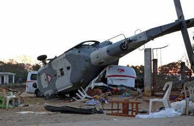 میکسیکو میں فوجی ہیلی کاپٹر گرکر تباہ،13 افراد ہلاک ،15 زخمی