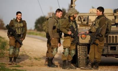 غزہ پر اسرائیلی فوج کا حملہ،2 فلسطینی شہید،بم دھماکے میں4 صیہونی فوجی زخمی