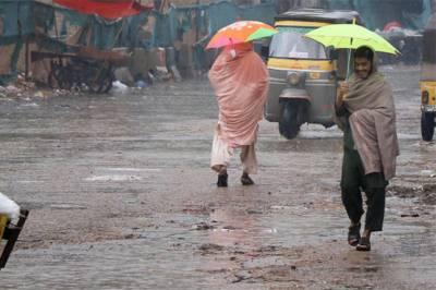 محکمہ موسمیات کی ملک کے چند مقامات پر بارش کی پیشگوئی