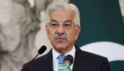 پاکستانی سر زمین پر کسی اور کی جنگ نہیں لڑ سکتے، وزیر دفاع