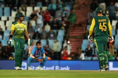 دوسرا ٹی 20 :جنوبی افریقہ نے بھارت کو 6 وکٹوں سے شکست دیدی
