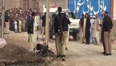 پشاور، رنگ روڈ پر دیر کالونی میں دھماکا، 3 افراد زخمی