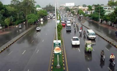 ملک کے مختلف حصوں میں بارش، خنکی میں اضافہ