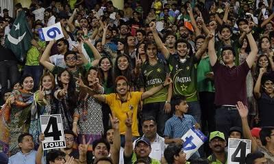 دنیائے کرکٹ نے پاکستانی اور بھارتی شائقین کو اکٹھا کر دیا