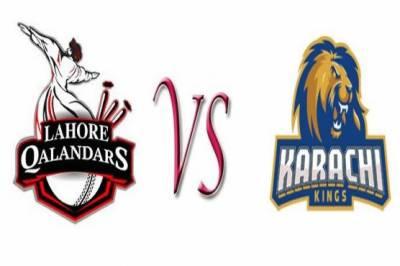 پی ایس ایل 3 :آج لاہور قلندرز اور کراچی کنگز کے مابین میچ کھیلا جائیگا